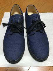 HARE ハレ デニム生地 シューズ 靴 クツ インディゴ L 26〜27cm