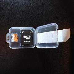 送料込!☆新品☆MicroSDカード 32GB アダプター付属