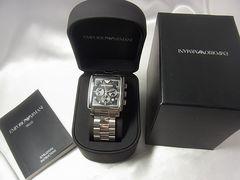 確実本物保証エンポリオアルマーニクロノAR-5331腕時計