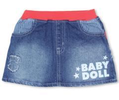 新品BABYDOLL☆デニム スカート 140 ベビードール