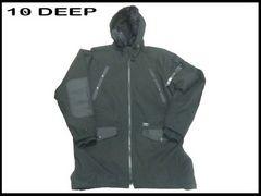 50% 新品 デンデイープ10DEEP ロングテール ジャケット セール! ストリートHIPHOP