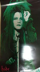X JAPAN hide ポスター ヒデ 1994 ファーストソロツアー
