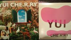 激安!超レア!☆YUI/CHE.R.RY☆初回限定盤/CD+DVDステッカー付き!☆美品!