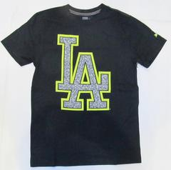 AF46)NEWERAプリントTシャツ半袖 LA(10004AD00)