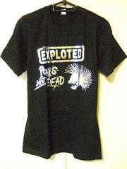★ロックTシャツ★The Exploited★スカル★ハードコアパンク★