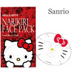 HelloKittyハローキティなりきりフェイスパック【新品】薔薇バラ