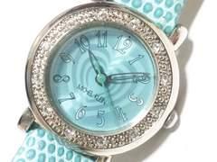 10586/MICHELKLEINミッシェルクラン未使用品の素敵なレディース腕時計