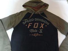 USA購入 フォックス【FOX Moto-X】プルオーバーパーカーUS S