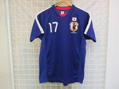 JFA JAPAN 長谷部 メンズ半袖サッカーウェア S 美品