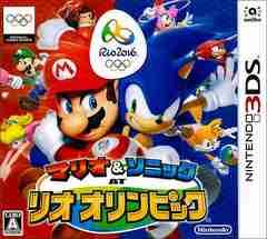 3DS#マリオ&ソニック AT リオオリンピック 新品