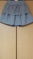 ブロックチェック*スカート
