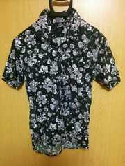 花柄 半袖 シャツ 送料込