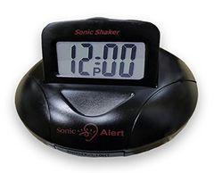 新品 携帯型振動式目覚まし時計 ソニックシェーカー SBP100B