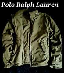 【POLO】ラルフローレン Hooded フルジップジャケット US-XL/Olive ポニーマーク