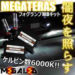 mLED】セルシオ30前期後期/フォグランプHIDキット/HB4/6000K