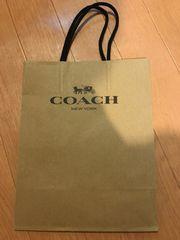 コーチ ショップ袋 ショッパー