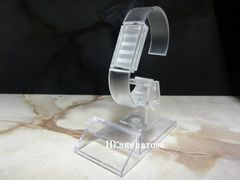 新品5 定形外可 腕時計スタンド 1個 アクリル 角度調節可能