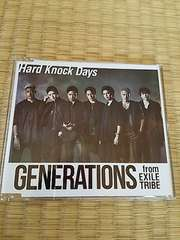 GENERATIONS HardknockDaysワンコインCD