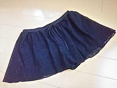 編みレースショートパンツL