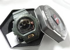 確実本物保証未使用カシオGショックDW-6900クロコダイルエディション腕時計
