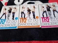 TRFダンスエクササイズDVD3枚セット上半身下半身ウエスト