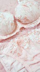 ☆.。.*pink シンプル刺繍����set*.。.☆