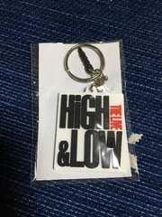 HiGH&LOW ガチャ カプセル ラバーキーホルダー/ホワイト