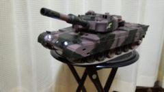 京商製、  ラジコン自衛隊90式戦車大サイズ、フルファンクション