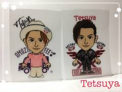 EXILE THE SECOND☆tetsuya☆クリアファイル二枚