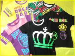 ☆USED☆・ベビードール*BABYDOLL・半袖Tシャツ5枚セット/140