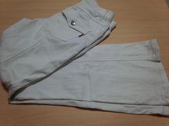 白のズボン★61cm〜中古