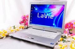 ★NEC Lavie パソコンDVDスーパー★ iTunes Wi-Fi★
