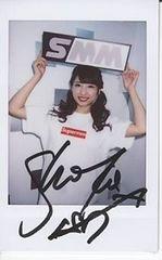 ■[激レア 直筆サイン] 秋山祥子■可愛いチェキ ポラロイド写真