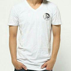 Diesel Tシャツ ワッペン ホワイト L