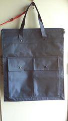 濃紺 トートバッグ