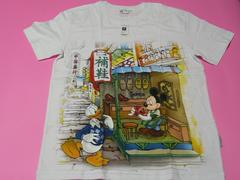 香港ディズニーランド ミッキー・ドナルド Tシャツ