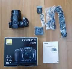 新品級美品 Nikon COOLPIX P610デジタルカメラコンデジニコン