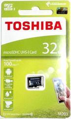 東芝 32GB 読込Max100MB/秒 microSDHC(マイクロSDHCカード32ギガ)