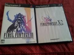 PS2☆ファイナルファンタジ-X&X2&X�U☆3本まとめ売り♪