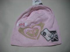 wb780 ROXY ロキシー ニット帽 ビーニー ピンク