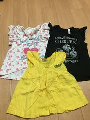 Tシャツ3枚セット☆90