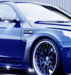 ★フェンダーのアクセントに★汎用ダミーダクト(49) BMWM3風