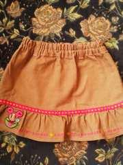 新品同様ミニK茶のかわいいスカート90