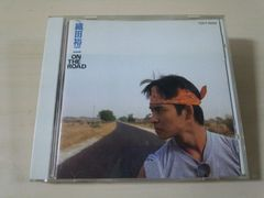 織田裕二CD「オン・ザ・ロードON THE ROAD」廃盤●
