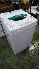 東芝 12年式 AW-605 5kg 洗い 簡易乾燥機能付き洗濯機
