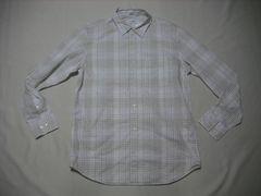 fy923 男 CK CALVIN KLEIN カルバンクライン チェックシャツ M
