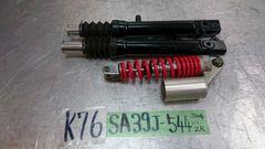 SA39J - 544... JOG ZR エボ2 ジャンク Fフォーク&Rサス