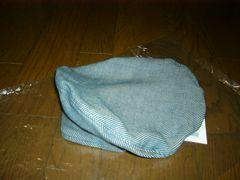 新品Nハリミスターハリウッド帽子38デニム調キャップベレー帽