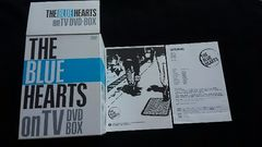 THE BLUE HEARTS on TV DVD-BOX完全初回生産限定版 Tシャツ付き