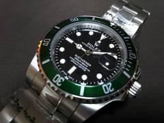 新品★16610LV  ロレックス 緑サブマリーナデイト